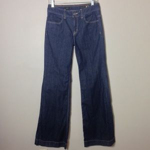 Express High Waist Dark Wash Jeans Sz 4